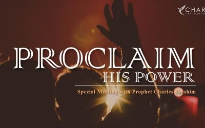 Proclaim His Power