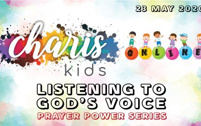 Charis Kids Online: Prayer Power Series – Listening to God's Voice