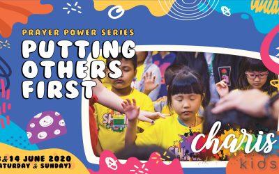 Charis Kids Online: Prayer Power Series – Putting Others First