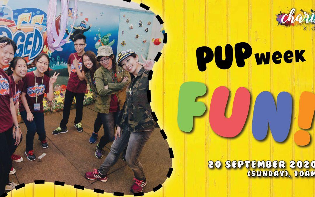 Charis Kids Online: PUP Week #7