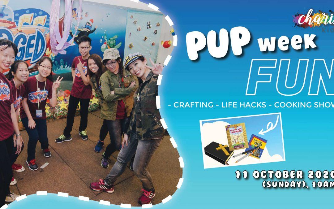 Charis Kids Online: PUP Week #8