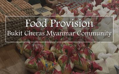 Food Provision   Bukit Cheras Myanmar Community
