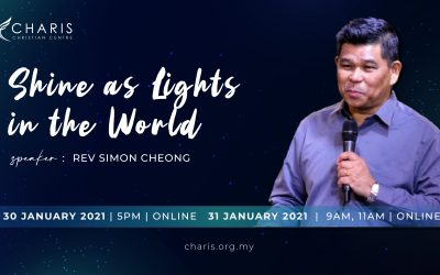 Shine As Lights In The World